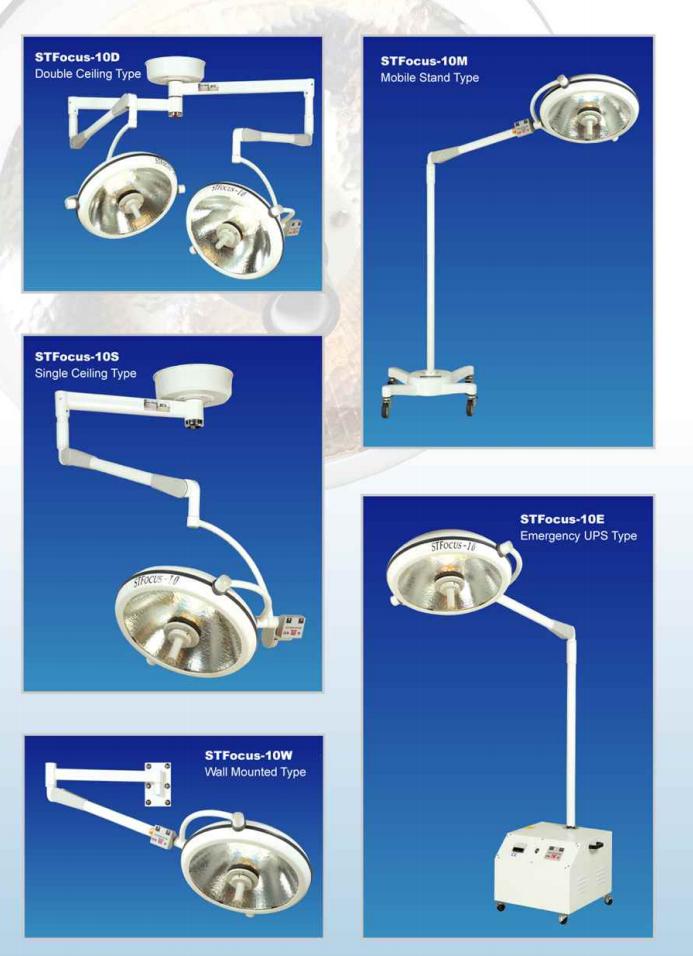 ST-Focus10 Halogen Operating Lamps